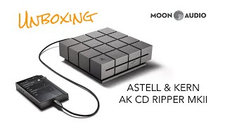 aSTELL & KERN AK CD RIPPER MKII - Unboxing