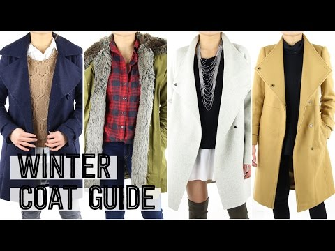 2015 Winter Coat Guide | Fashion Essentials Outfit Ideas Loo