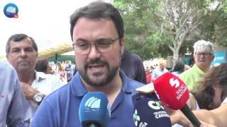 Feaga 2017 - Visita de Asier Antona, Presidente del PP de Canarias