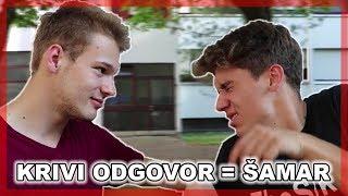 KOLIKO SE POZNAJEMO? (NA ŠAMARE) ✋ | TheSikrt & Bruno Lukić