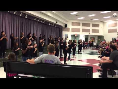 God Bless the USA- Piggott Elementary School- Sign Design Theatre Company