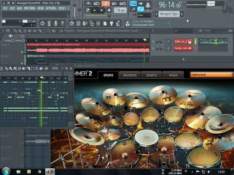 Avenged Sevenfold Afterlife Drum Cover Ezdrummer2 A7x