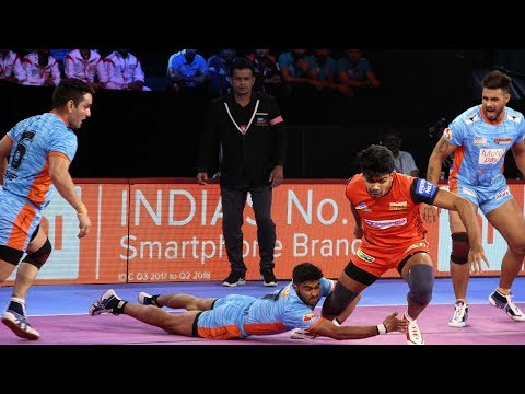 Pro Kabaddi 2018 Highlights | Bengaluru Bulls vs Bengal Warriors | Hindi