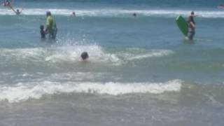 Ocean Sprint Part 3 With Front Flip Somersault Action