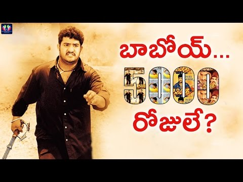 5000 Days For Simhadri | Ntr | SS Rajamouli | Telugu Full Screen
