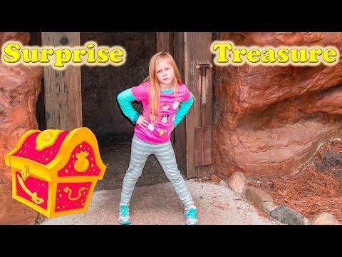DISNEY SURPRISE TREASURE Secret Surprise Treasure with the Assistant a Disney World Video Surprise