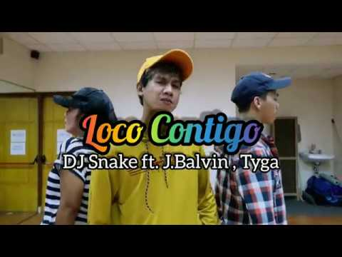DJ Snake JBalvin Tyga - Loco Contigo  ZUMBA  FITNESS  At PHKT Balikpapan