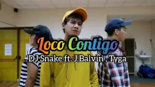 DJ Snake J.Balvin Tyga - Loco Contigo | ZUMBA | FITNESS | At PHKT Balikpapan