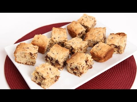 Sweet & Salty Cookie Bars Recipe - Laura Vitale - Laura in the Kitchen Episode 747