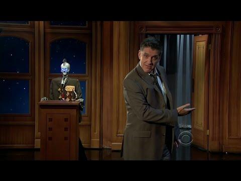 Late Late Show with Craig Ferguson 2/10/2012 Chelsea Handler, Dan Riskin