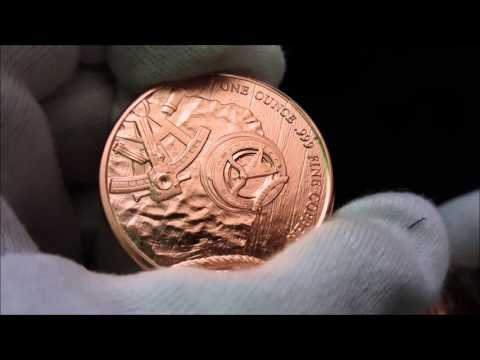 Provident Prospector 1 oz Copper Rounds unboxing