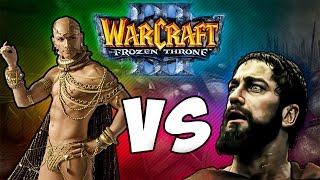 Warcraft 3 Frozen Throne - Карта 300 спартанцев ПОЛНОЕ совместное прохождение