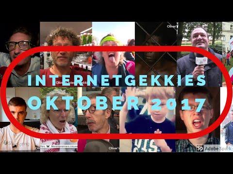 De Internetgekkies van de maand Oktober 2017