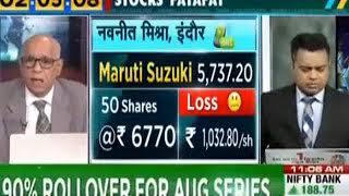 Stock fatafat 25/07/2019 view on Maruti Ashok Leyland RBL Bank Federal Bank