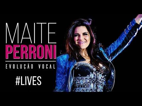 Maite Perroni evolução vocal (Live)