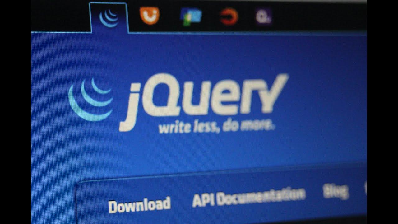 دورة مكتبة JQuery : الدرس 1 (مقدمة)