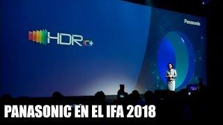 Resumen conferencia de Panasonic IFA 2018 en español