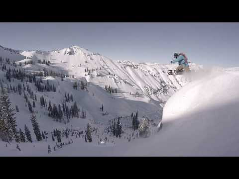 Bryan Iguchi follows Mark Landvik | Jackson Backcountry | GoPro