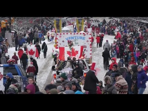 Vernon Winter Carnival Parade 2020, 60th Annual Part 1