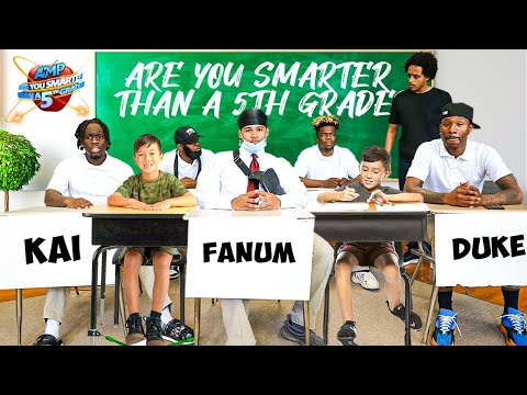 AMP ARE YOU SMARTER THAN A 5TH GRADER?