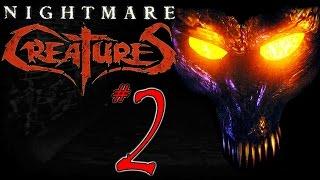 Nightmare Creatures #2 - Sewer Snake BRUTALS (Ignatius walkthrough)