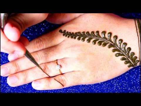 Simple Mehndi Designs Back Hand | Henna Art Mehendi Designs