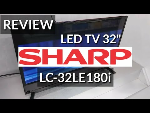 REVIEW SHARP LC-32LE180i LED TV 32 indonesia HD