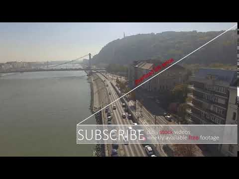 ⚠️ river Danube Budapest - STOCK VIDEO / www.calmprosstock.com