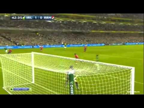 Ирландия 2-1 Армения  Отбор Евро 2012