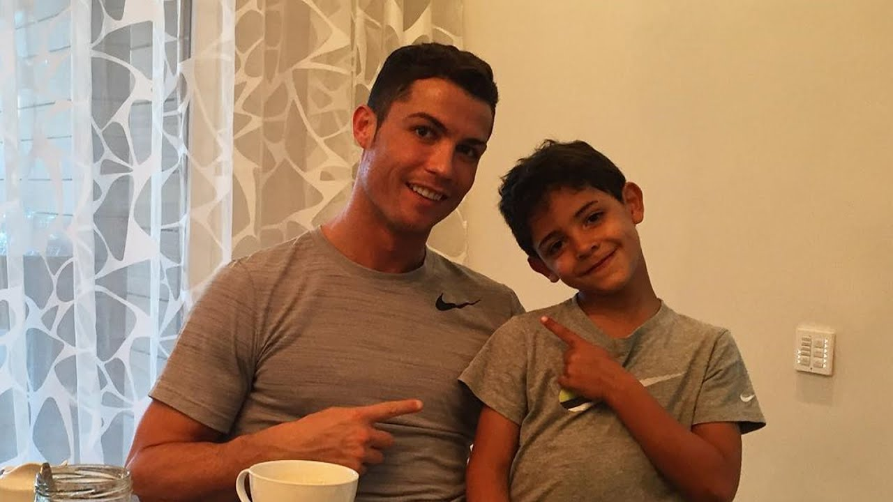 Image result for cristiano ronaldo spending time with family