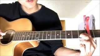 Hướng dẫn guitar Happy New Year - Sungha Jung ( Part 2 )