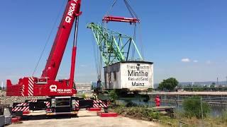 Einsatz am Mainzer Zollhafen