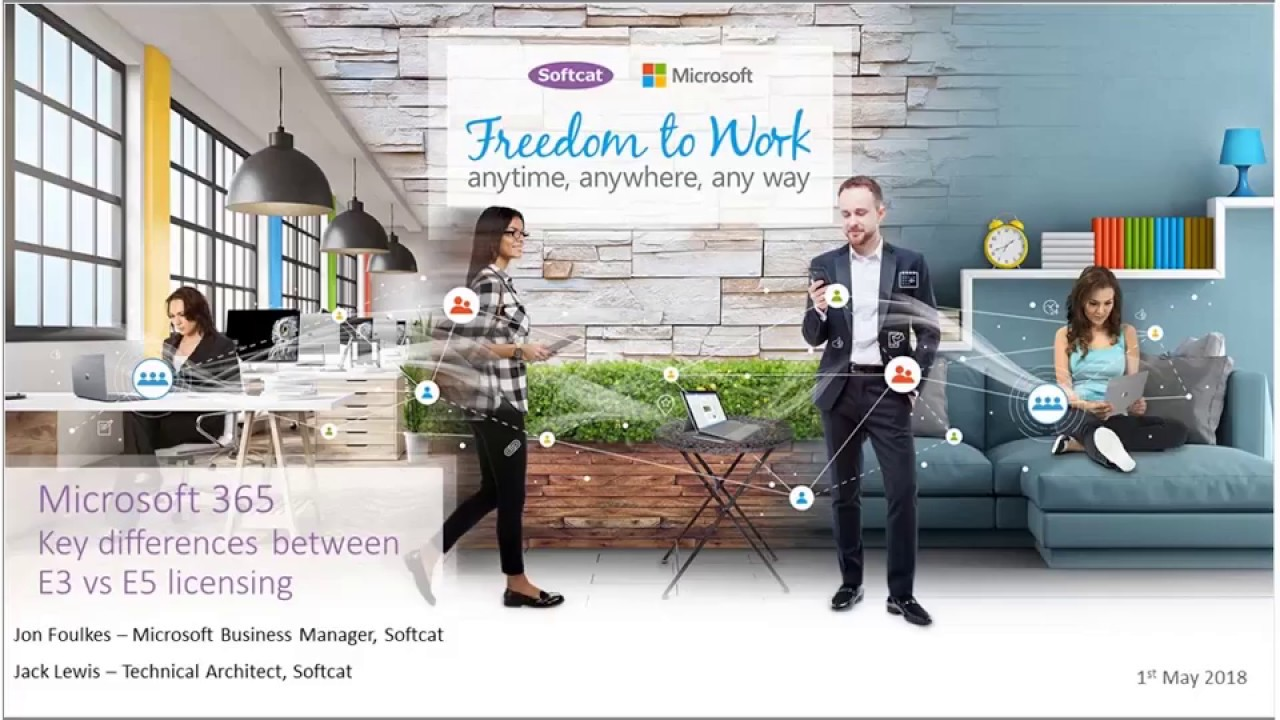Webinar: Microsoft 365 - Key differences between E3 and E5 licensing