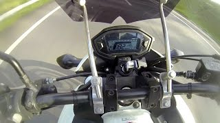 Top Speed Cb500f velocidade final