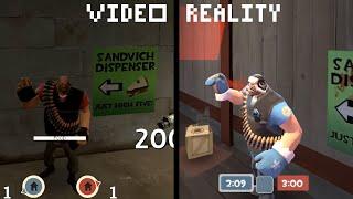 [720p60] TF2 - Video VS Reality