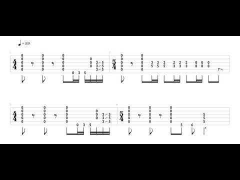 How To Play The Intro Riff To Molly O' By Joe Bonamassa - Redemption