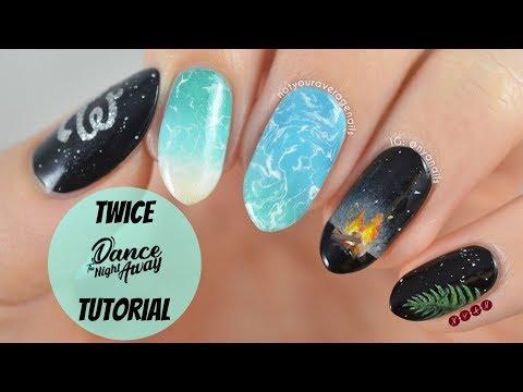 Twice Dance The Night Away Nail Art Tutorial