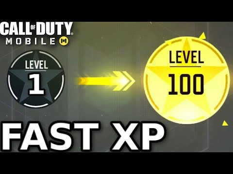 Fastest Way To Level Up In Call Of Duty Mobile! | RANK UP FAST IN CALL OF DUTY MOBILE