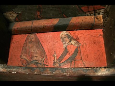 Les maisons aux images – les plafonds peints au Moyen âge