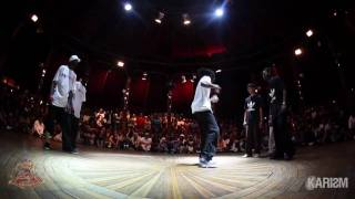Cercle Underground 2 House 1/2 Final Serial Stepperz vs Soul Brooklyn  1st part