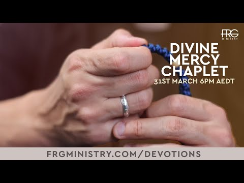 Divine Mercy Chaplet with Fr. Rob Galea (spoken)