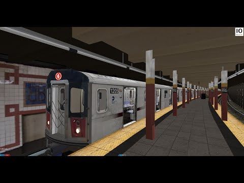 OpenBVE: R142 6 Train from 149th Street Grand Concourse to Brooklyn Bridge