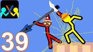 SUPREME DUELIST STICKMAN - Walkthrough Gameplay Part 39 - NEW LANCE (Android Game)