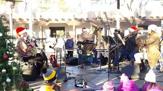 Santa Fe Brass Band  TREE LIGHTING CEREMONY SANTA FE PLAZA 2018