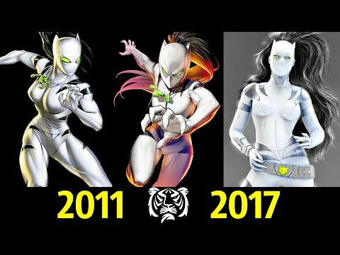 🐯 Белая Тигрица - Эволюция (2011 - 2017) ! Все Появления Авы Айалы   🔥!