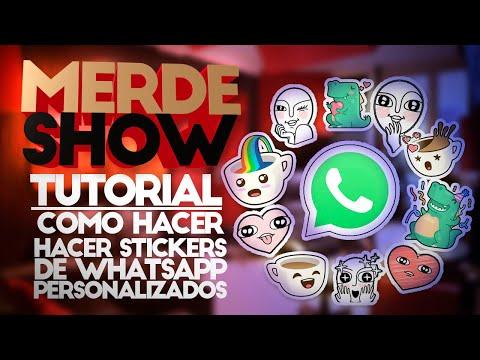 Como agregar #stickers personalizados en #whatsapp Iphone