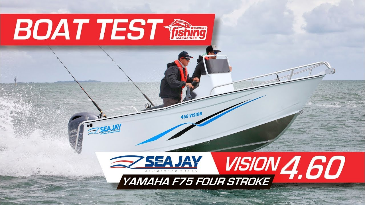Tested | Sea Jay 460 Vision with Yamaha F75 4 stroke