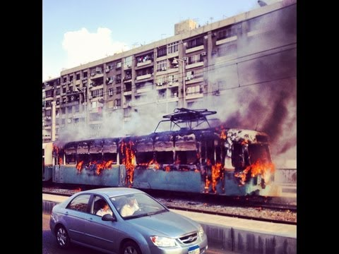 Egypt Metro on Fire, November 14th, 2012