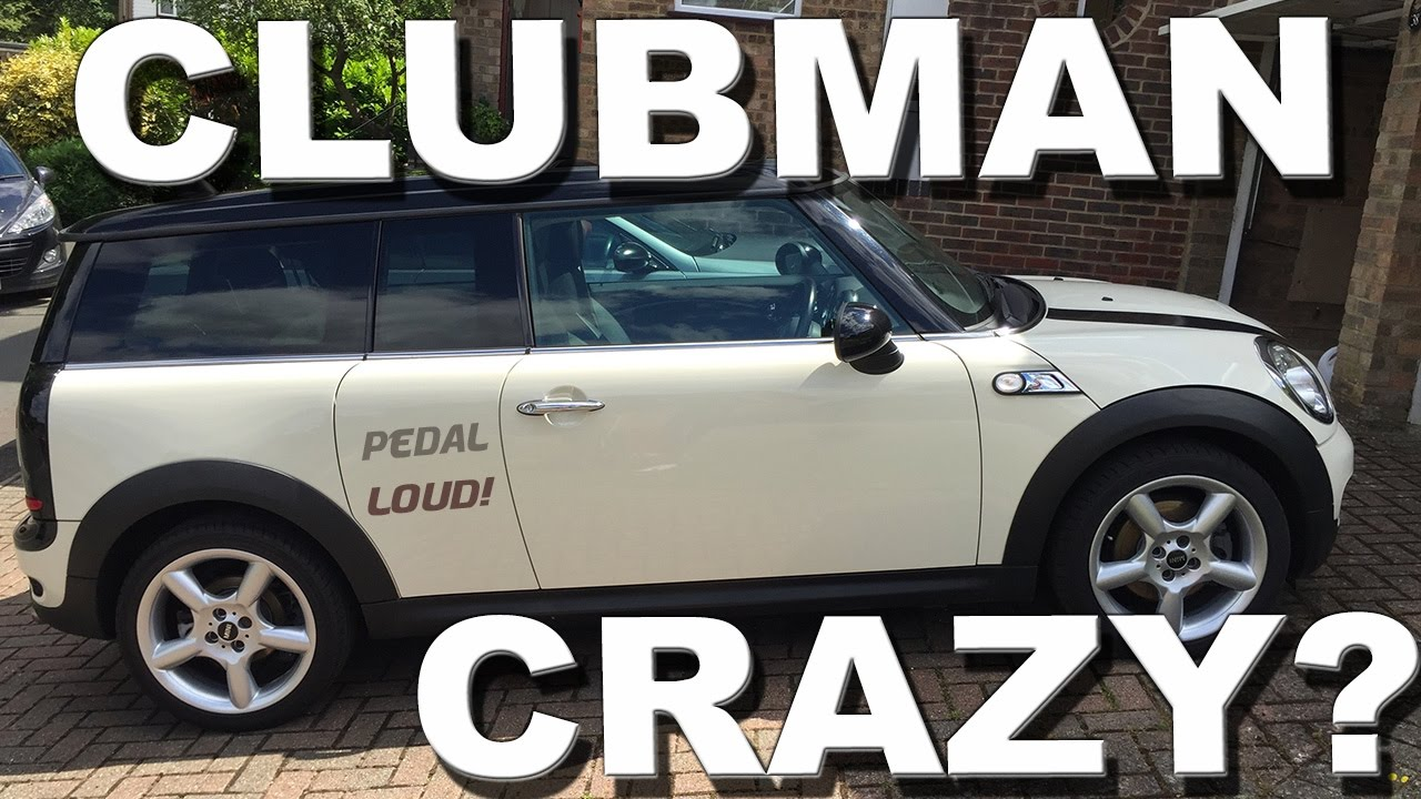 Driving My Wife S 2009 Mini Cooper Clubman Review And Roadtest R55 Not R53 R56