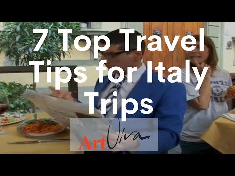 7 Top Travel Tips for Italy Trips - Episode 7: How to eat